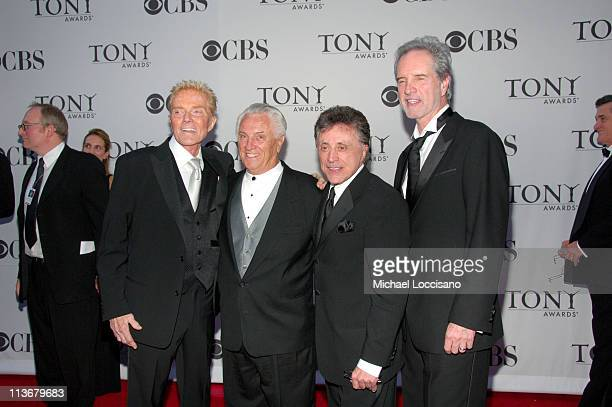 Tommy DeVito Frankie Valli Bob Gaudio and guests