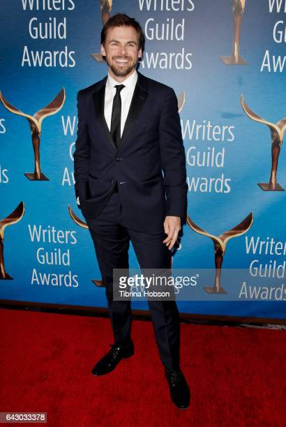 Tommy Dewey attends the 2017 Writers Guild Awards LA Ceremony at The Beverly Hilton Hotel on February 19 2017 in Beverly Hills California
