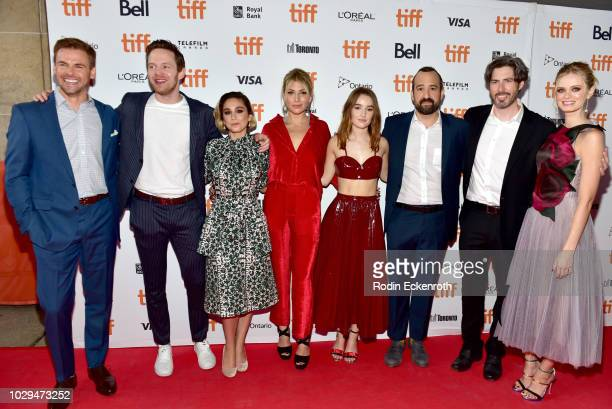 Tommy Dewey Mark O'Brien Molly Ephraim Ari Graynor Kaitlyn Dever Steve Zissis Jason Reitman and Sara Paxton attend the 'The Front Runner' premiere...