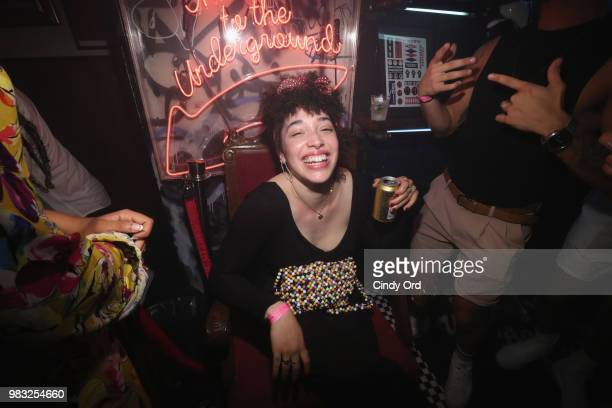 Tommy Dorfman and Overthrow Boxing Club host a NYC Pride Party benefiting GLAAD at Overthrow Underground Boxing Club on June 24 2018 in New York City
