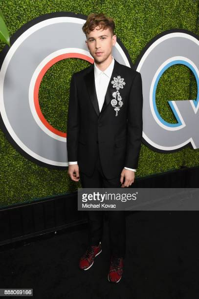 Tommy Dorfman attends the 2017 GQ Men of the Year party at Chateau Marmont on December 7 2017 in Los Angeles California