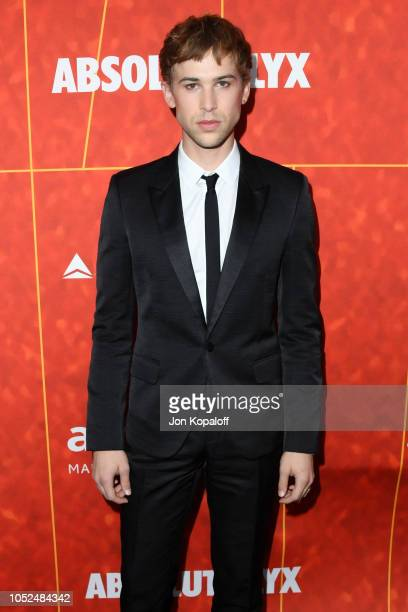 Tommy Dorfman attends the amfAR Gala Los Angeles 2018 at Wallis Annenberg Center for the Performing Arts on October 18 2018 in Beverly Hills...