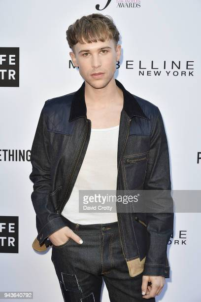 Tommy Dorfman attends The Daily Front Row's 4th Annual Fashion Los Angeles Awards Arrivals at The Beverly Hills Hotel on April 8 2018 in Beverly...
