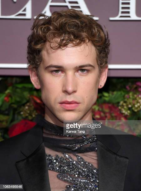 Tommy Dorfman attends the Evening Standard Theatre Awards 2018 at Theatre Royal Drury Lane on November 18 2018 in London England