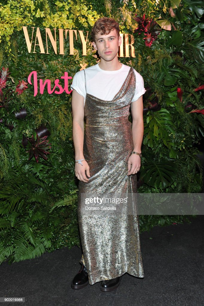 Vanity Fair x Instagram Celebrate the New Class of Entertainers at Mel's Diner on Golden Globes Weekend : Foto di attualità