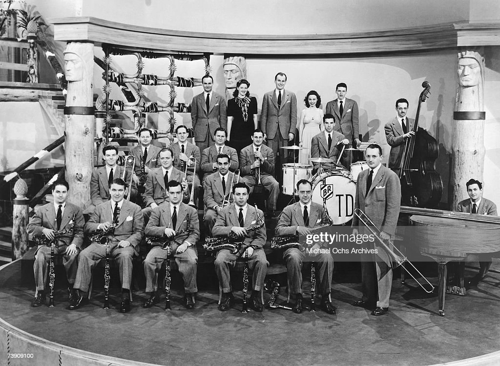 Tommy Dorsey Orchestra In 'Las Vegas Nights' : News Photo