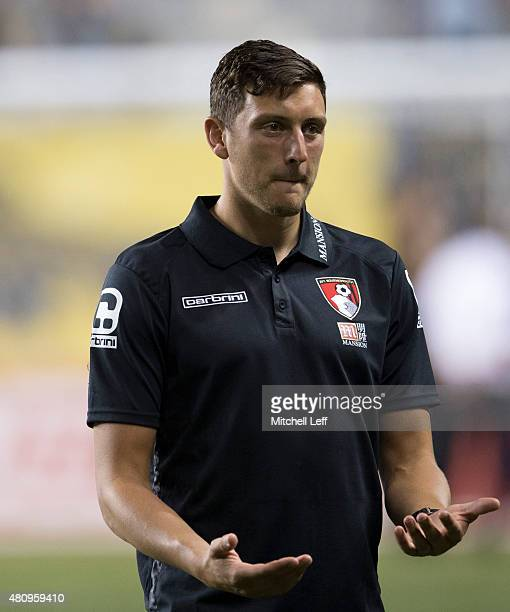 Tommy Elphick of AFC Bournemouth walks off the field at the end of the friendly match against the Philadelphia Union on July 14 2015 at the PPL Park...