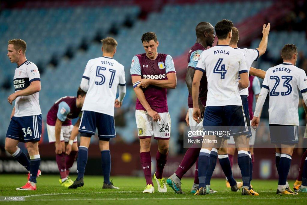Aston Villa v Middlesbrough - Carabao Cup Third Round : News Photo