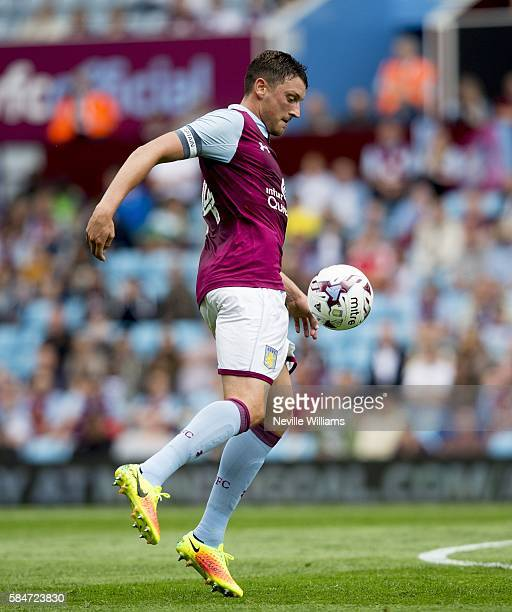 Tommy Elphick of Aston Villa during the Pre-Season Friendly match between Aston Villa and Middlesbrough at Villa Park on July 30, 2016 in Birmingham,...