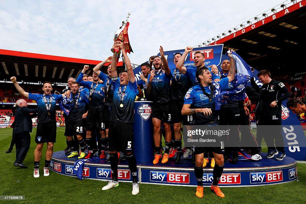 Charlton Athletic v AFC Bournemouth - Sky Bet Championship : Nyhetsfoto