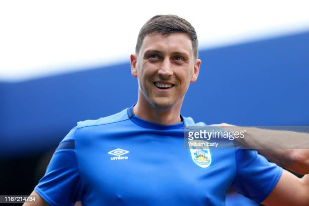 Tommy Elphick of Huddersfield Town during the Sky Bet Championship match between Queens Park Rangers and Huddersfield Town at The Kiyan Prince...