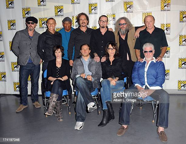 Tommy Flanagan Theo Rossi Paris Barclay Kim Coates creator Kurt Sutter actors Mark Boone Junior Dayton Callie Maggie Siff Charlie Hunnam Katey Sagal...