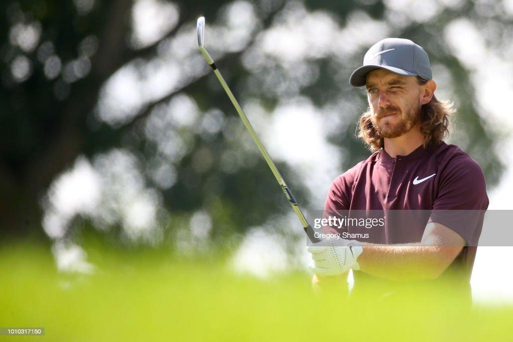 World Golf Championships-Bridgestone Invitational - Round Two : News Photo