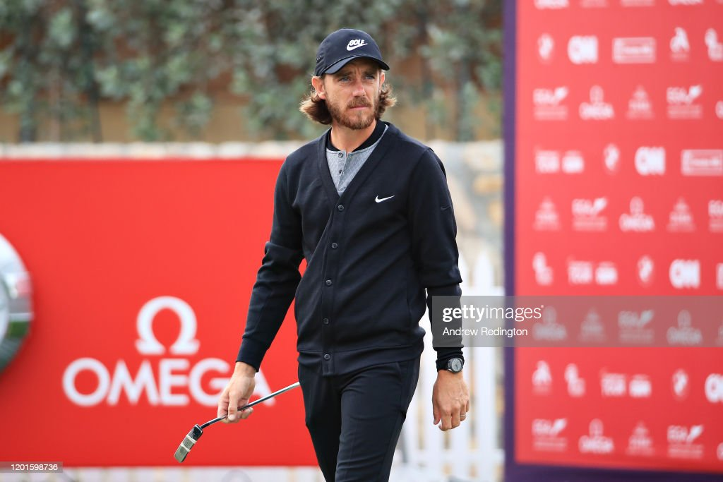 Omega Dubai Desert Classic - Day Two : News Photo
