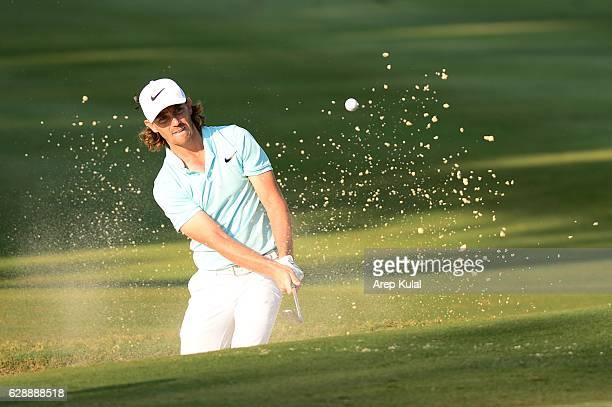 Tommy Fleetwood of England pictured during the round three of the UBS Hong Kong Open 2016 at The Hong Kong Golf Club on December 10, 2016 in Hong...