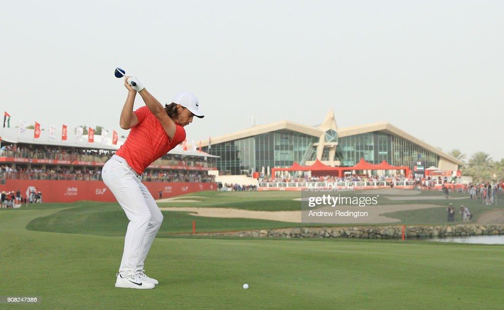 Abu Dhabi HSBC Golf Championship - Day Four : ニュース写真