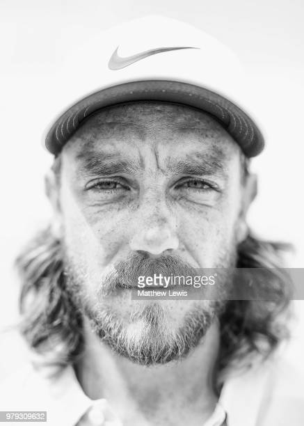 Tommy Fleetwood of England poses for a portrait ahead of a practice round ahead of the BMW International Open at Golf Club Gut Larchenhof on June 20...