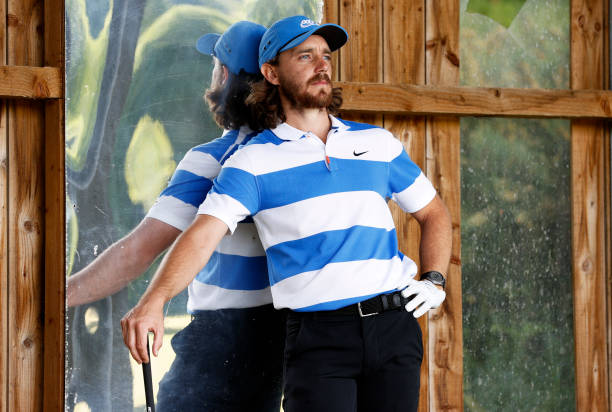 GBR: Professional Golfer Tommy Fleetwood Practices As Lockdown Restrictions Are Relaxed
