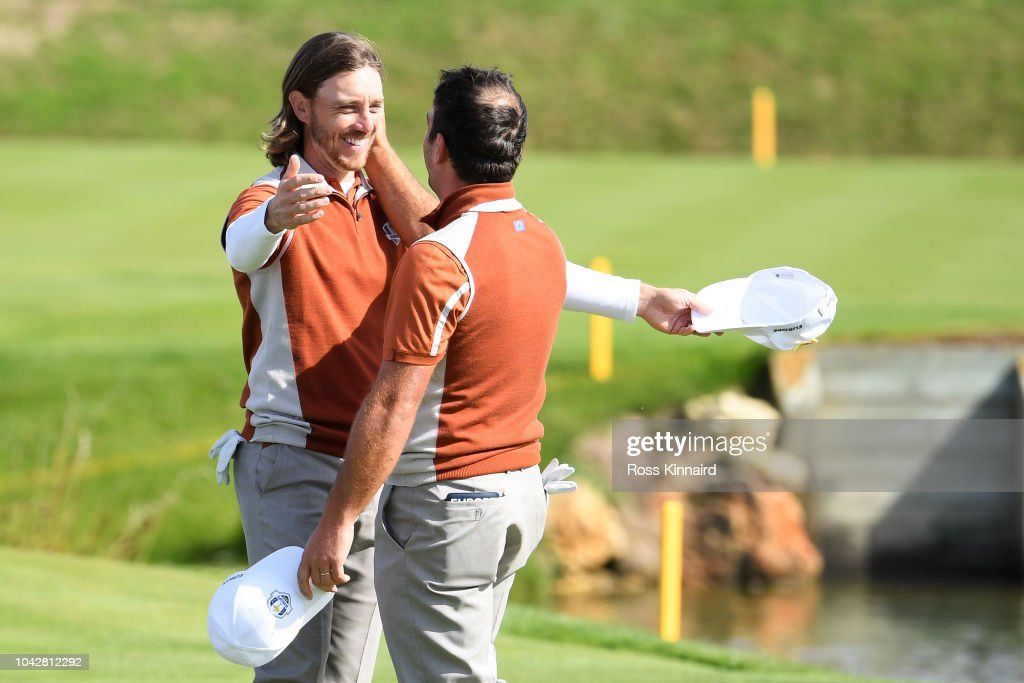 2018 Ryder Cup - Morning Fourball Matches : Photo d'actualité