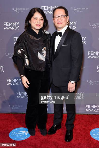 Tommy Fung attends 2018 Femmy Awards hosted by Dita Von Teese on February 6 2018 in New York City