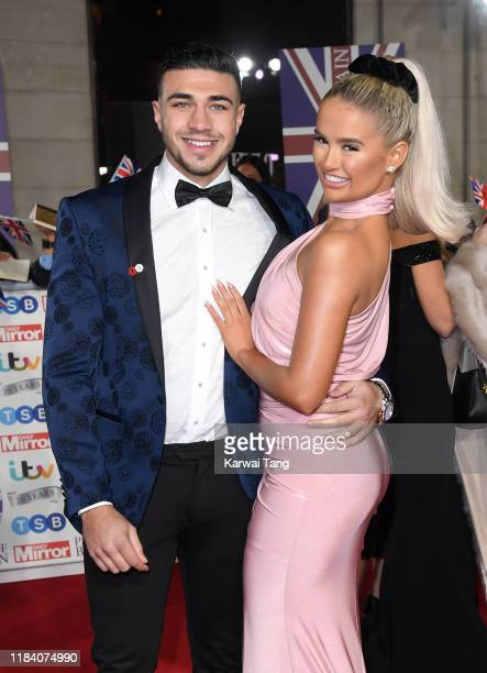Tommy Fury and Molly-Mae Hague attend the Pride Of Britain Awards 2019 at The Grosvenor House Hotel on October 28, 2019 in London, England.