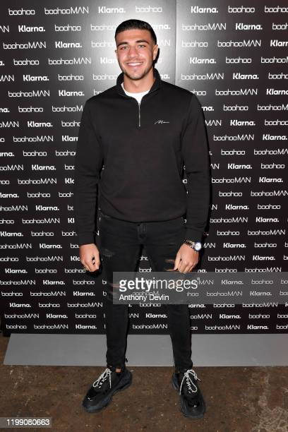 Tommy Fury during the boohoo and boohooMAN Screening event on January 12 2020 in Liverpool England