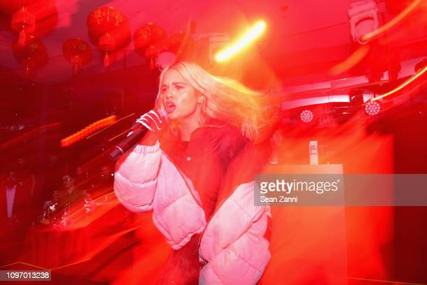 Tommy Genesis performs onstage at Alex Wang's Big Trouble In Little China At The Rainbow Room Powered by Cash App on February 9 2019 at The Rainbow...