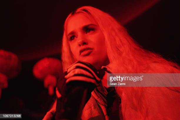 Tommy Genesis performs onstage at the Alex Wang's Big Trouble In Little China At The Rainbow Room Powered by Cash App on February 9 2019 at The...