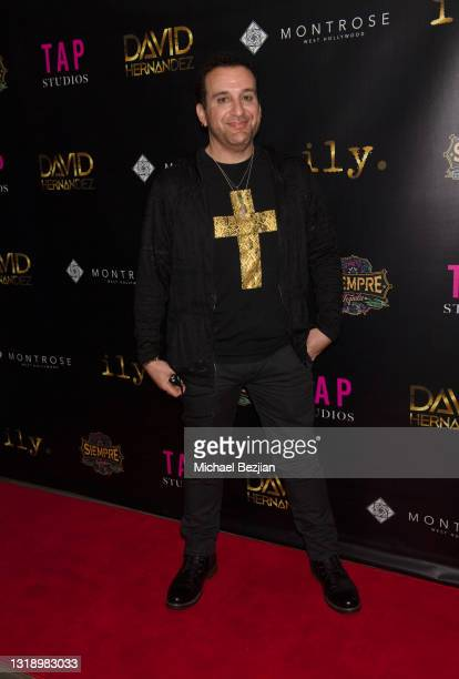 """Tommy Geraci attends The Artists Project visits """"ily."""" Video Music Premiere by David Hernandez on May 19, 2021 in Los Angeles, California."""