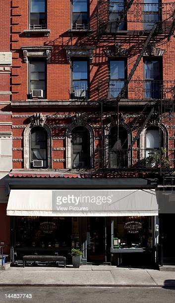 Tommy Guns Ludlow Street New York New York United States Architect Russel Manly Tommy Guns Hairsalon Russell Manly New York Exterior View Of Hair...