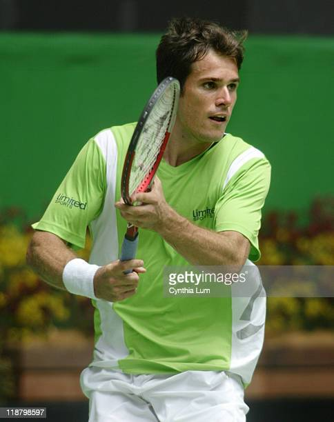 Tommy Haas defeats Richard Gasquet 62 7 5 62 in the first round of the Australian Open Melbourne Park Melbourne Australia