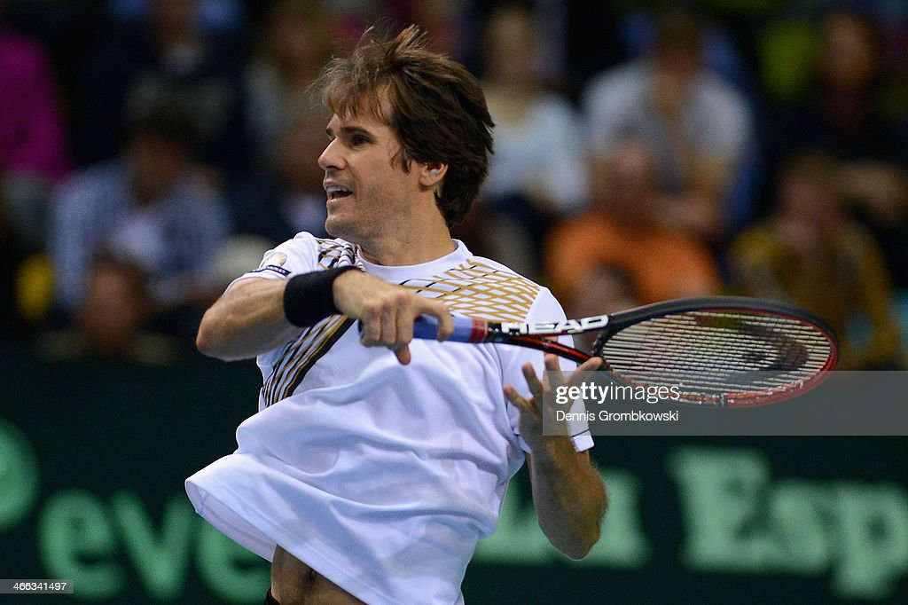 Germany v Spain - Davis Cup First Round Day 2 : News Photo