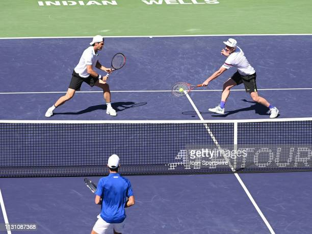 Tommy Haas teamed with John McEnroe in an exhibition doubles match against Pete Sampras and Novak Djokovic after Rafael Nadal pulled out of the BNP...