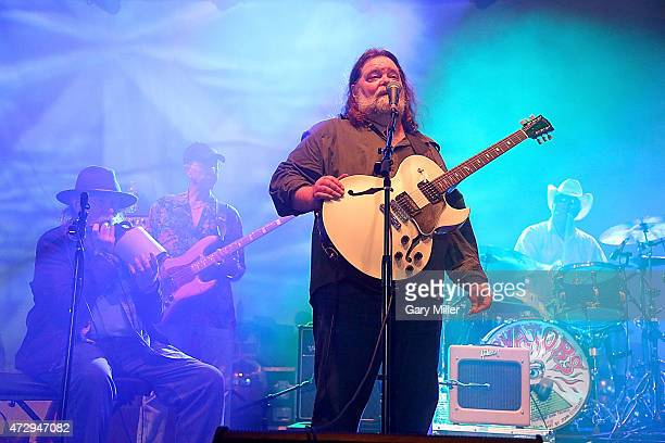 Tommy Hall Ronnie Leatherman John Ike Walton and Roky Erickson the four surviving original members of the 13th Floor Elevators perform as a group for...