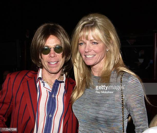 Tommy Hilfiger and Cheryl Tiegs during The 9th Annual Race to Erase MS Co-Chaired by Nancy Davis & Tommy Hilfiger - Fashion Show at The Century Plaza...
