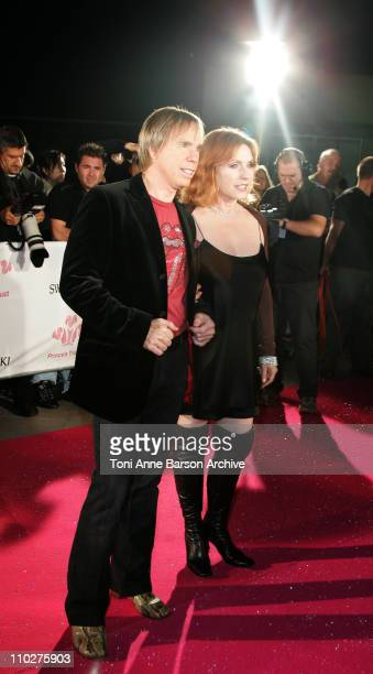 Tommy Hilfiger and Debbie Harry during Swarovski Fashion Rocks for the Prince's Trust Red Carpet Arrivals at Forum Grimaldi in Monte Carlo Monaco