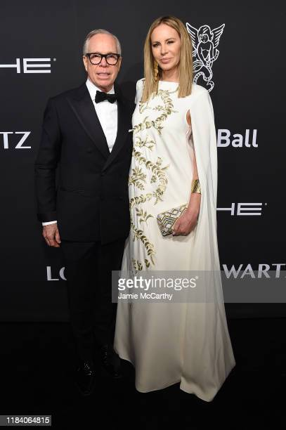 Tommy Hilfiger and Dee Hilfiger arrive at the Angel Ball 2019 hosted by Gabrielle's Angel Foundation at Cipriani Wall Street on October 28 2019 in...