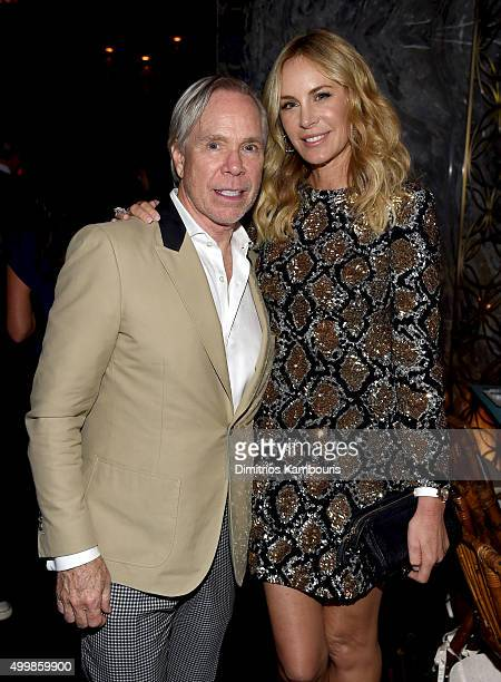 Tommy Hilfiger and Dee Hilfiger attend Aby Rosen and Samantha Boardman host their Annual Dinner at The Dutch W Hotel South Beach on December 3 2015...