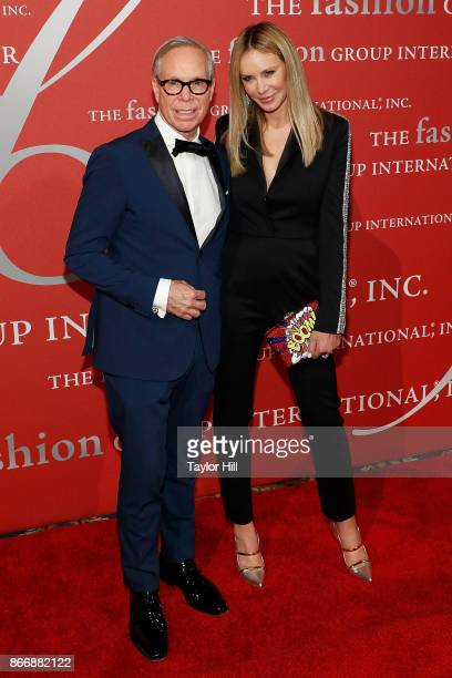 Tommy Hilfiger and Dee Hilfiger attend the 2017 Night Of Stars Gala at Cipriani Wall Street on October 26 2017 in New York City