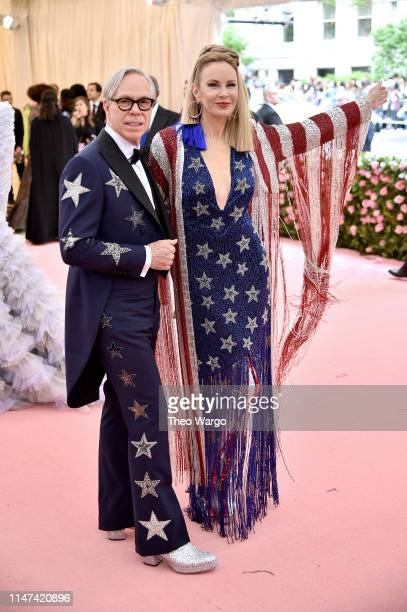 Tommy Hilfiger and Dee Hilfiger attend The 2019 Met Gala Celebrating Camp Notes on Fashion at Metropolitan Museum of Art on May 06 2019 in New York...