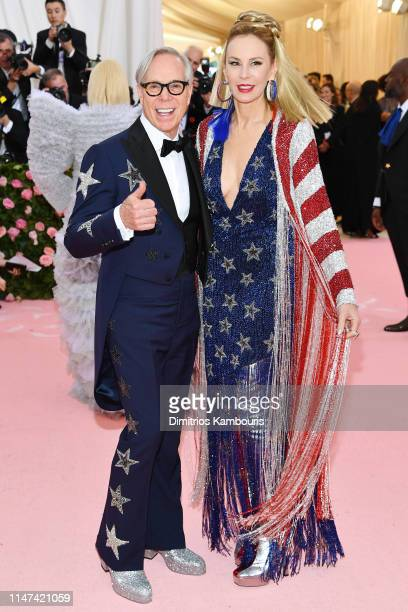 Tommy Hilfiger and Dee Hilfiger attend The 2019 Met Gala Celebrating Camp: Notes on Fashion at Metropolitan Museum of Art on May 06, 2019 in New York...