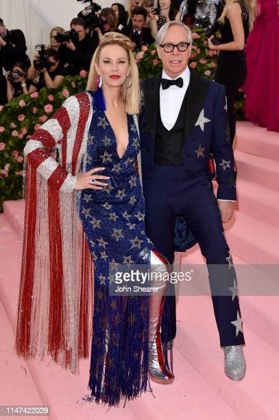 Tommy Hilfiger and Dee Hilfiger attend The 2019 Met Gala Celebrating Camp: Notes On Fashion at The Metropolitan Museum of Art on May 06, 2019 in New...