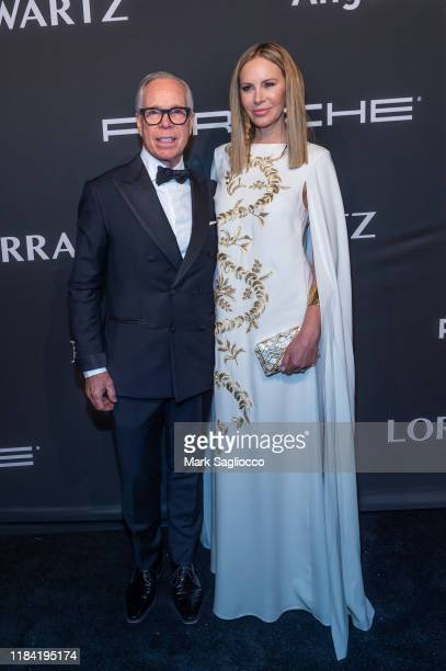 Tommy Hilfiger and Dee Hilfiger attend the Angel Ball 2019 at Cipriani Wall Street on October 28 2019 in New York City