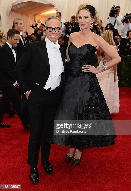 Tommy Hilfiger and Dee Hilfiger attend the Charles James Beyond Fashion Costume Institute Gala at the Metropolitan Museum of Art on May 5 2014 in New...