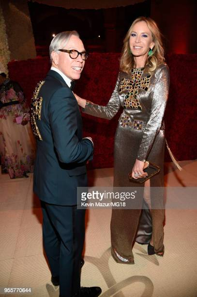 Tommy Hilfiger and Dee Hilfiger attend the Heavenly Bodies Fashion The Catholic Imagination Costume Institute Gala at The Metropolitan Museum of Art...
