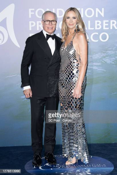 Tommy Hilfiger and Dee Hilfiger attend the Monte-Carlo Gala For Planetary Health on September 24, 2020 in Monte-Carlo, Monaco.