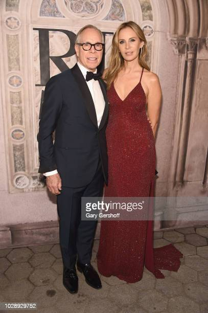 Tommy Hilfiger and Dee Hilfiger attend the Ralph Lauren 50th Anniversary event during New York Fashion Week at Bethesda Terrace on September 7 2018...