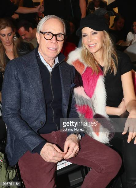 Tommy Hilfiger and Dee Ocleppo attend Andy Hilfiger Presents ARTISTIX on February 10 2018 in New York City