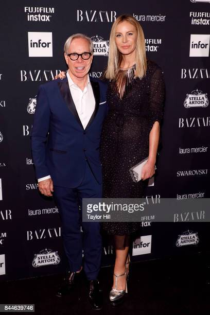 Tommy Hilfiger and Dee Ocleppo attend the 2017 Harper ICONS party at The Plaza Hotel on September 8 2017 in New York City