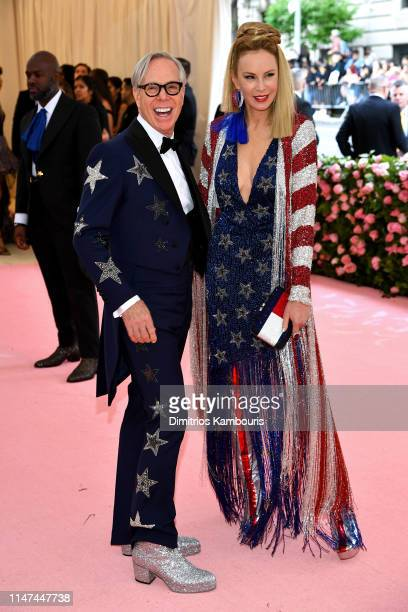 Tommy Hilfiger and Dee Ocleppo attend The 2019 Met Gala Celebrating Camp: Notes on Fashion at Metropolitan Museum of Art on May 06, 2019 in New York...